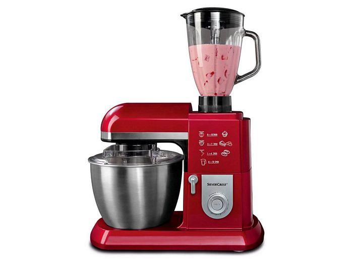 ماشین آشپزخانه حرفه ای سیلورکرست SilverCrest به رنگ قرمز